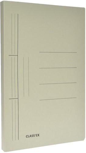 Class'ex hechtmap, ft 25 x 34,7 cm (voor ft folio), grijs