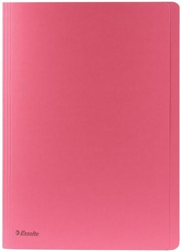 Esselte dossiermap roze, ft folio