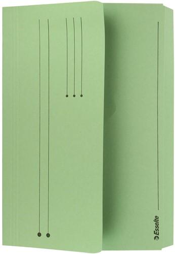 Esselte documentenmap Pocket File groen 1 Stuk