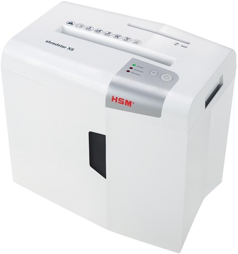 HSM shredstar X8 papiervernietiger, 4,5 x 30 mm