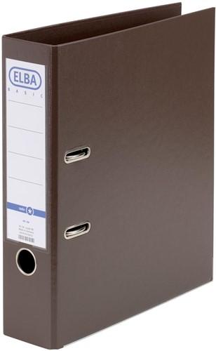 Elba ordner Smart Pro+,  bruin, rug van 8 cm 1 Stuk