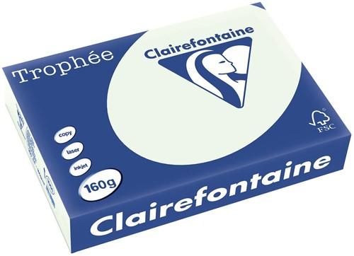 Clairefontaine Trophée Pastel A4, 160 g, 250 vel, lichtgroen