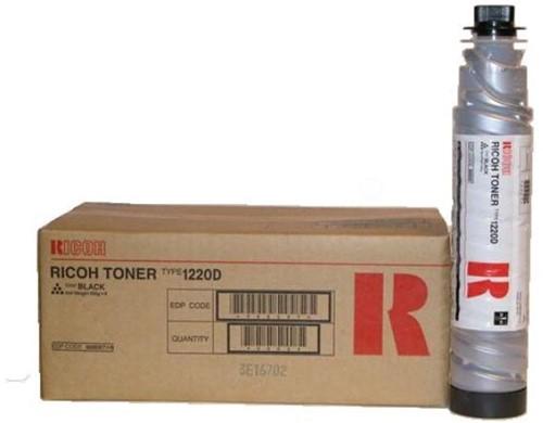 Ricoh Toner zwart TYPE1220D - 9000 pagina's - 888087