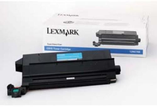 Lexmark Toner Kit cyaan - 14000 pagina's - 12N0768