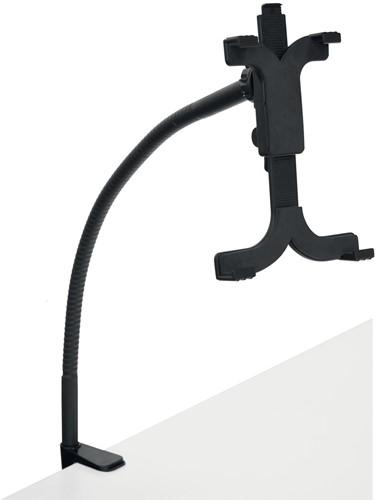 Desq tablet standaard met bureauklem, zwart