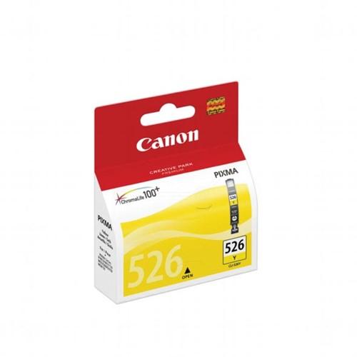 Canon inktcartridge CLI-526Y, 450 pagina's, OEM 4543B006, met beveiligingsysteem, geel