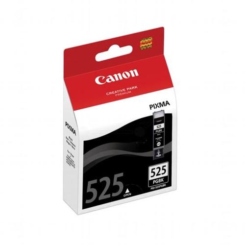 Canon inktcartridge PGI-525PGBK, 311 pagina's, OEM 4529B008, met beveiligingsysteem, zwart