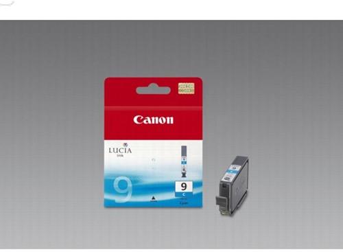 Canon inktcartridge PGI-9C, 1.150 pagina's, OEM 1035B001, cyaan 1 Stuk