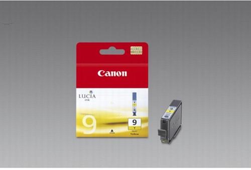 Canon inktcartridge PGI-9Y, 930 pagina's, OEM 1037B001, geel 1 Stuk