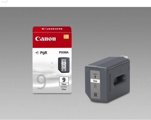 Canon inktcartridge PGI-9CLEAR, 1.635 pagina's, OEM 2442B001, transparant 1 Stuk