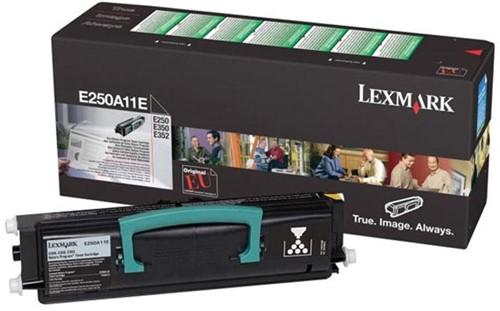 Lexmark Toner Kit return program - 3500 pagina's - E250A11E 1 Stuk