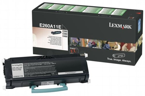 Lexmark Toner Kit return program - 3500 pagina's - E260A11E 1 Stuk
