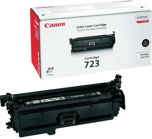 Canon toner 723BK, 5.000 pagina's, OEM 2644B002, zwart 1 Stuk