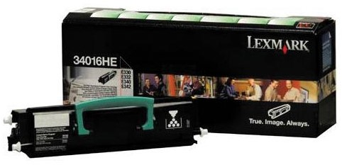 Lexmark Toner Kit return program - 6000 pagina's - 34016HE 1 Stuk