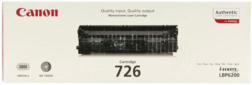 Canon toner 726, 2.100 pagina's, OEM 3483B002, zwart 1 Stuk