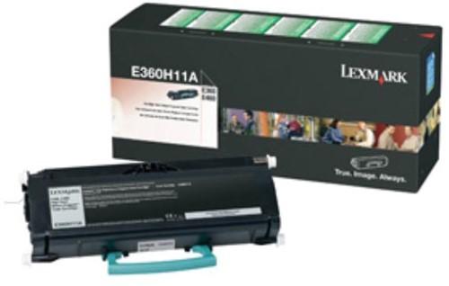 Lexmark Toner Kit return program - 9000 pagina's - E360H11E 1 Stuk