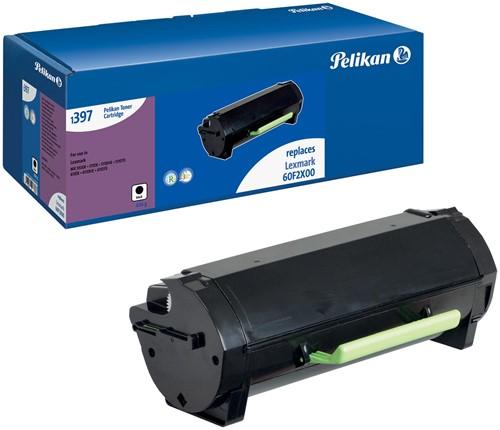 Pelikan toner zwart, 20000 pagina's voor Lexmark 602X - OEM: 60F2X00