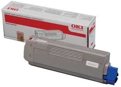 Oki Toner Kit magenta - 6000 pagina's - 44315306 1 Stuk