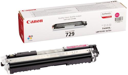 Canon toner 729M, 1.000 pagina's, OEM 4368B002, magenta 1 Stuk