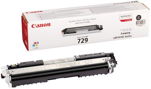 Canon toner 729BK, 1.200 pagina's, OEM 4370B002, zwart 1 Stuk