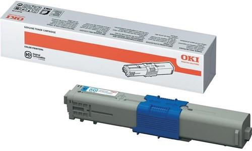 Oki Toner Kit cyaan - 2000 pagina's - 44469706 1 Stuk