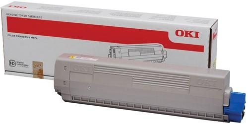 Oki Toner Kit geel - 10000 pagina's - 44844505 1 Stuk