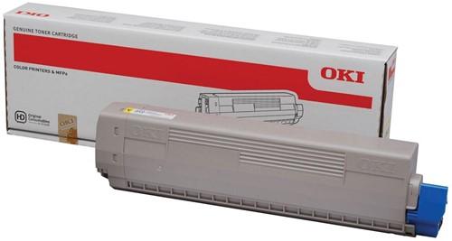 Oki Toner Kit geel - 7300 pagina's - 44844613 1 Stuk