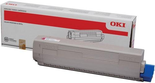 Oki Toner Kit magenta - 7300 pagina's - 44844614 1 Stuk