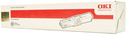 Oki Toner Kit cyaan - 1500 pagina's - 44973535 1 Stuk
