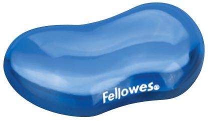 Fellowes Crystals Gel polssteun, blauw 1 Stuk