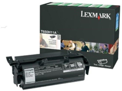 Lexmark Tonercartridge zwart return program - 25000 pagina's - T650H11E 1 Stuk