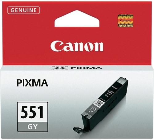 Canon inktcartridge CLI-551GY, 780 pagina's, OEM 6512B001, grijs 1 Stuk