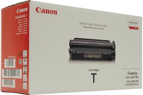 Canon toner T, 3.500 pagina's, OEM 7833A002, zwart 1 Stuk
