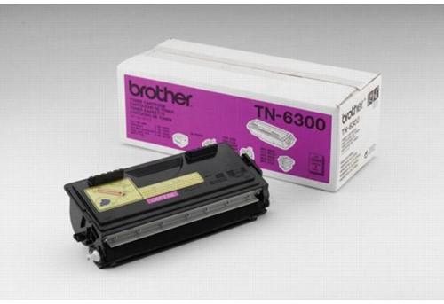 Brother toner, 3.000 pagina's, OEM TN-6300, zwart 1 Stuk