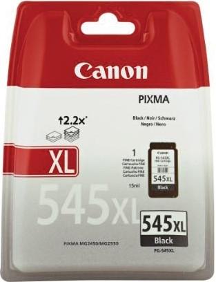 Canon inktcartridge PG545XL, 400 pagina's, OEM 8286B001, zwart 1 Stuk