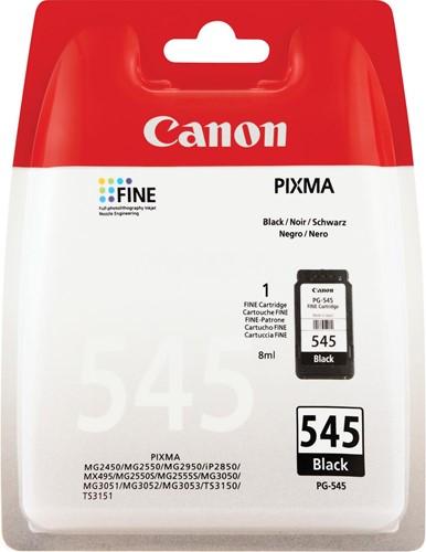 Canon inktcartridge PG-545, 180 pagina's, OEM 8287B001, zwart 1 Stuk