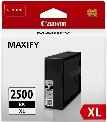 Canon inktcartridge PGI-2500XL, 2.500 pagina's, OEM 9254B001, zwart 1 Stuk